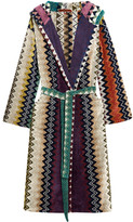 Missoni Home Taylor Cotton-terry Robe - Blue