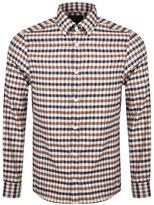 Aquascutum London Magee Check Shirt Beige