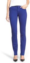 NYDJ Samantha Stretch Slim Straight Leg Jean (Petite)