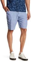 Toscano Micro Check Linen Short