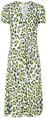 Diane von Furstenberg Cecilia leopard print dress