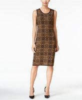 Charter Club Jacquard Shift Dress, Only at Macy's