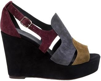 Tila March Multicolour Suede Sandals
