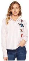 Romeo & Juliet Couture Stripe Shirt with Patches