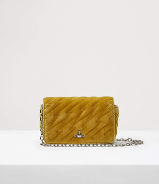 Vivienne Westwood Coventry Mini Crossbody Bag Yellow