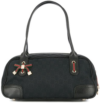 Gucci Pre Owned Gucci GG Shelly Line hand tote bag