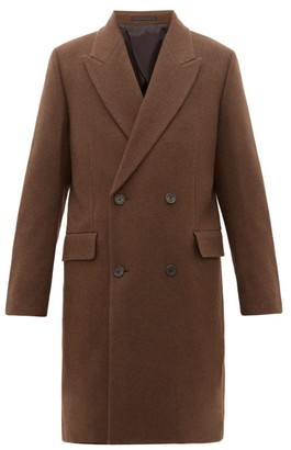 The Row Mickey Double-breasted Yak Coat - Mens - Brown