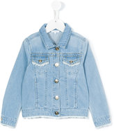 Chloé Kids - classic denim jacket - kids - Cotton/Polyester - 10 yrs