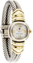 David Yurman Two-Tone Cable Watch