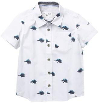 Sovereign Code Whiteside Printed Collared Shirt