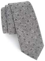 The Tie Bar Men's Medallion Ridges Silk Tie