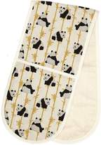 Fenella Smith - Panda & Bamboo Double Oven Gloves
