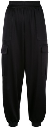 Alice + Olivia Alice+Olivia Dede tapered cropped trousers