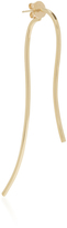 Paige Novick 18K Yellow Gold Curved Bar Earring