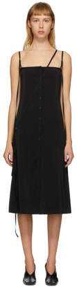 Lemaire Black Silk Caraco Dress