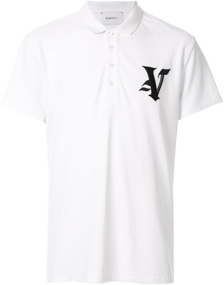 Ports V Embroidered Logo Polo Shirt