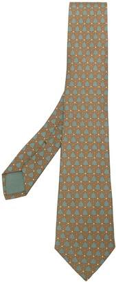 Hermes Pre-Owned Geometric Pattern Tie