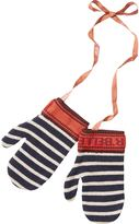 Scotch & Soda Knitted Stripe Mittens