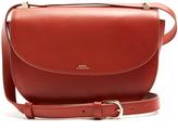 A.P.C. Genève leather cross-body bag