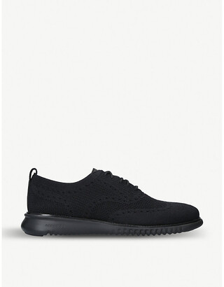 Cole Haan 2.ZERØGRAND Oxford stretch-knit trainers
