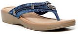Minnetonka Starla Wedge Thong Sandal