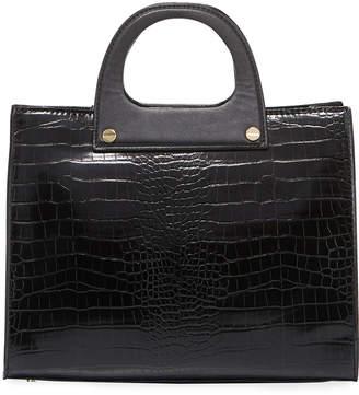 Neiman Marcus Cedar Top-Handle Satchel Bag