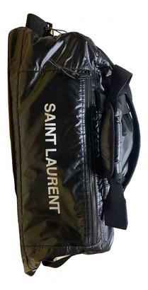 Saint Laurent Nuxx Black Polyester Bags
