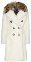 Burberry Fur-trimmed Shearling Coat