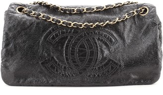 Chanel Rock and Chain Flap Bag Patent Vinyl Medium