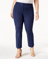 Alfani Plus Size Skinny Cropped Pants, Created for Macy's