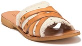 Cocobelle Son Crisscross Canvas Sandal
