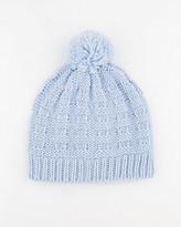 Le Château Knit Pompom Hat