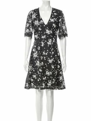 Lela Rose 2020 Knee-Length Dress Rose