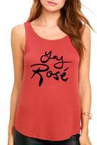 MinkPink Yay Rose Tank