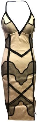 La Perla Ecru Silk Dress for Women