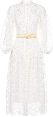 Zimmermann Empire Lace Dress
