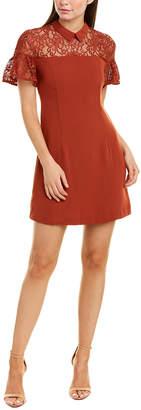 Endless Rose Lace Yoke Shift Dress