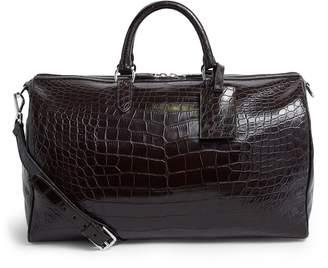 Ralph Lauren Purple Label Alligator Boston Bag