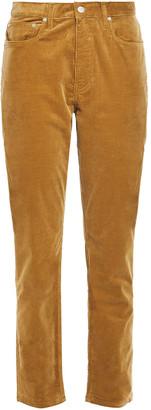 Joseph Cropped Cotton-blend Corduroy Straight-leg Pants