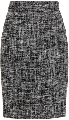 Boutique Moschino Cotton-blend Tweed Pencil Skirt
