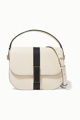 Valextra Iside Textured-leather Shoulder Bag - Cream