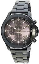 Michael Kors Men's Walsh Navy MK8571 Blue Stainless-Steel Plated Quartz Dress Watch