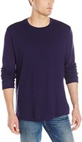 Velvet by Graham & Spencer Men's Brantley Long Sleeve Shirt In Mesh