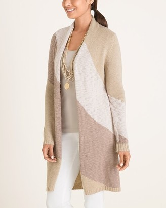 Chico's Shimmer Cardigan