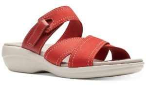 Clarks Collection Women's Alexis Art Flat Sandals Women's Shoes
