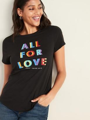 Old Navy 2019 Pride Graphic Tee For Women