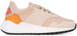 Buscemi low-top colour block sneakers
