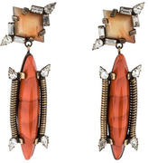 Dannijo Marla Crystal Drop Earrings