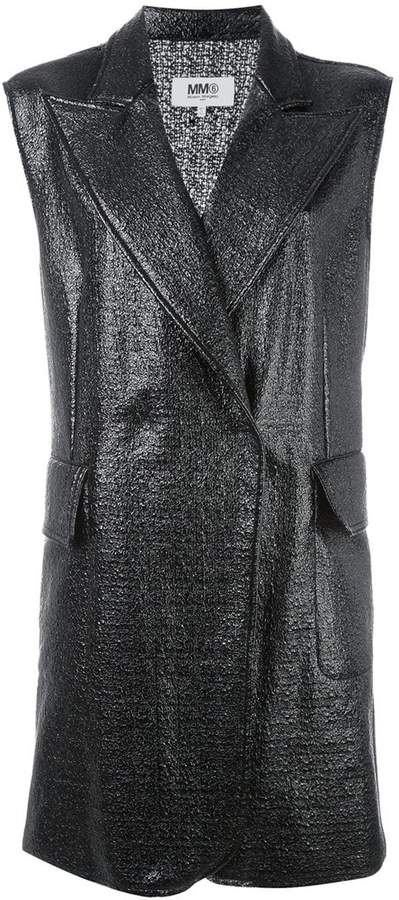 MM6 MAISON MARGIELA sleeveless coat