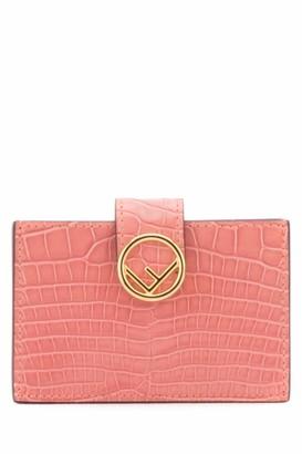 Fendi Logo Card Holder